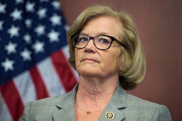 Rep. Chellie Pingree ata news conference in the Capitol Visitor Center to introduce legislation...