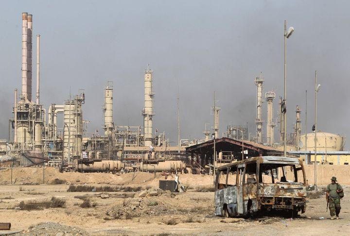 The Baiji oil refinery has been a major battleground between Iraqi forces and Islamic State fighters.