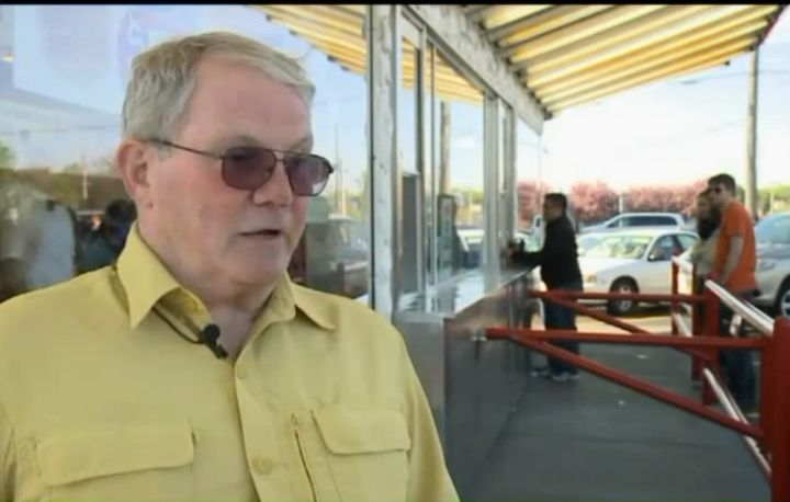 Leon's Frozen Custard owner Ron Schneider said he wanted his employees to speak to customers only in English, even if the emp