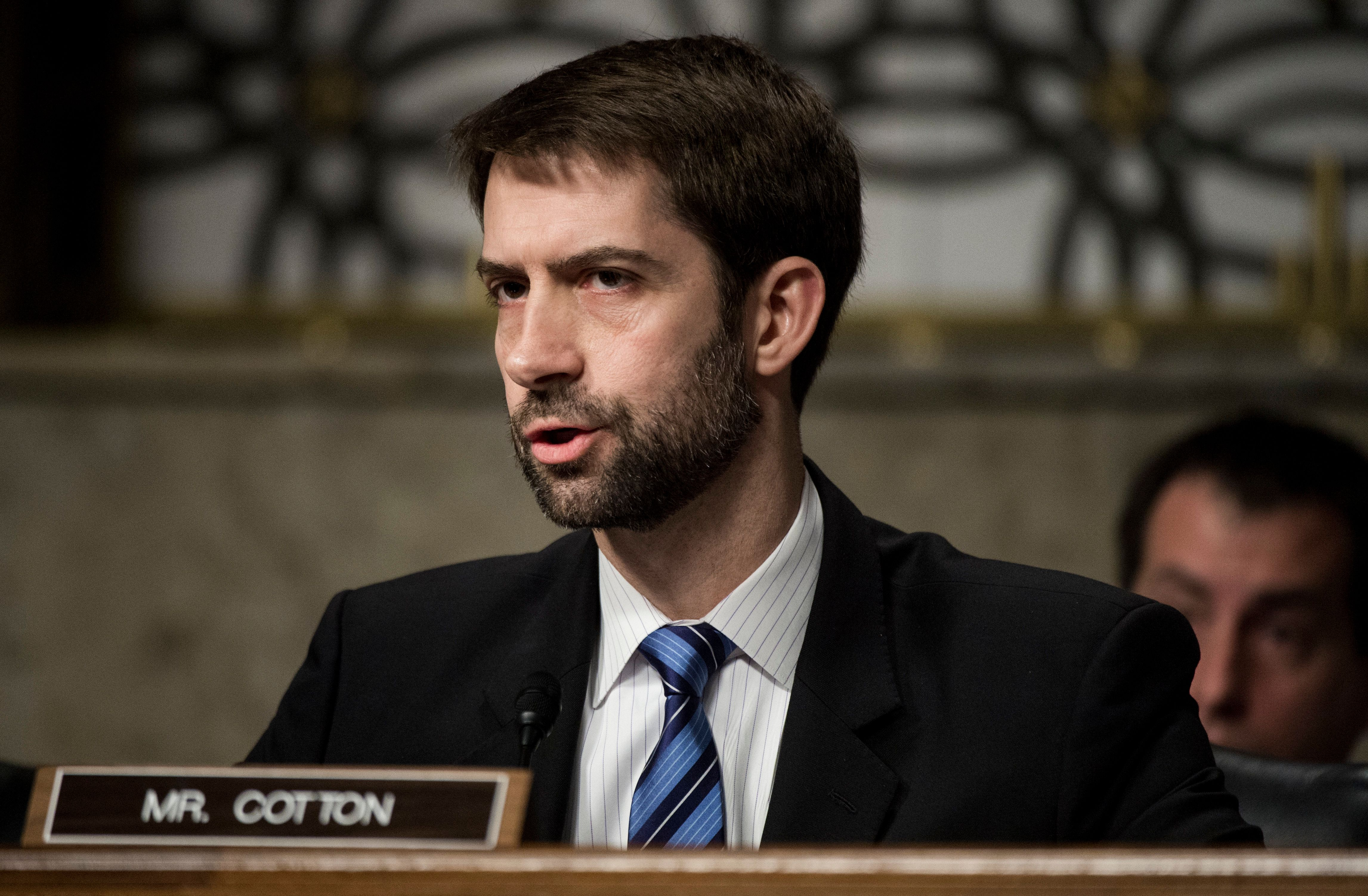 Sen. Tom Cotton (R-Ark.) has beena vocal critic of efforts to reform the criminal justice system.