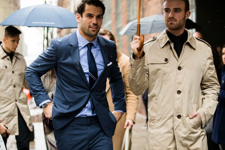 "Decker describes his fashion sense to HuffPost as ""all over the board."""