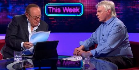Andrew Neil was left somewhat nonplussed by David Icke's