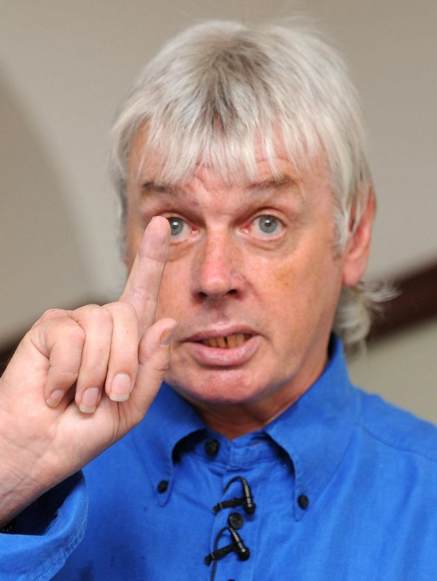 Icke stands by his claims about lizards controlling the