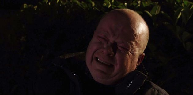 Phil Mitchell was trying to come to terms with his mother's