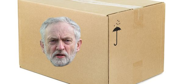 MP Vents Fury After Student Dupes Activists With Cardboard Jeremy Corbyn
