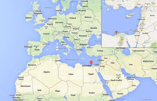 Debris from the crash has been found 180miles north of the Egyptian city of
