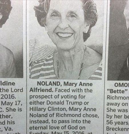 Mary Anne Noland's