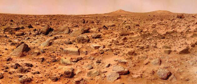 Mars Was Once A Planet Ravaged By Giant