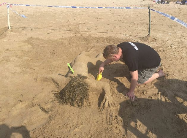 Cornwall Police Apologise For Naked Woman Sandcastle Branded 'Very