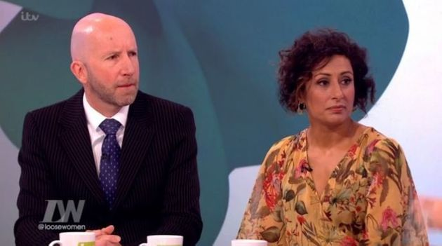 Saira hid her husband Steve Hyde from her family for four