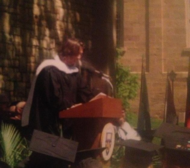 David Foster Wallace speaks at Kenyon College's graduation in 2005. His speech was a crystallization...