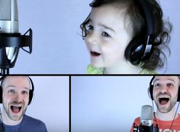 Watch This Daddy-Daughter Duo Take On The '80s Classic 'Take On Me'