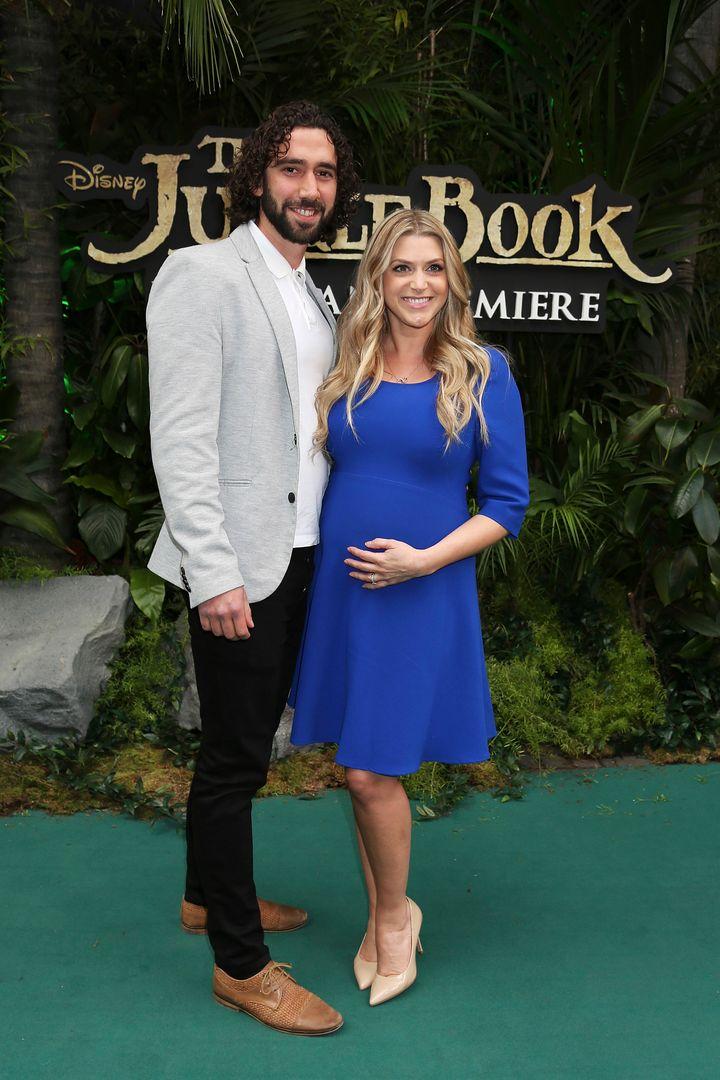 Anna Williamson and her husband Alex Di Pasquale