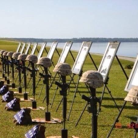 <i>Memorial service for Marines of 1st Battalion</i>, <i>6th Marines- May 2007&nbsp;</i>