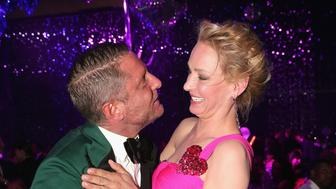 CAP D'ANTIBES, FRANCE - MAY 19:  Lapo Elkann and Uma Thurman attend the amfAR's 23rd Cinema Against AIDS Gala at Hotel du Cap-Eden-Roc on May 19, 2016 in Cap d'Antibes, France.  (Photo by Gisela Schober/Getty Images for amfAR )
