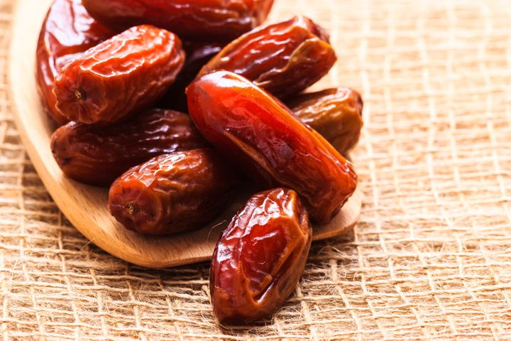 Many Muslims break their daily fast and begin the iftar meal with three dates, emulating the Prophet Muhammad who i