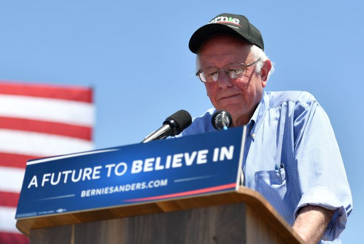 Sen. Bernie Sanders (I-Vt.) had $5.8 million left in his campaign account at the beginning of May.