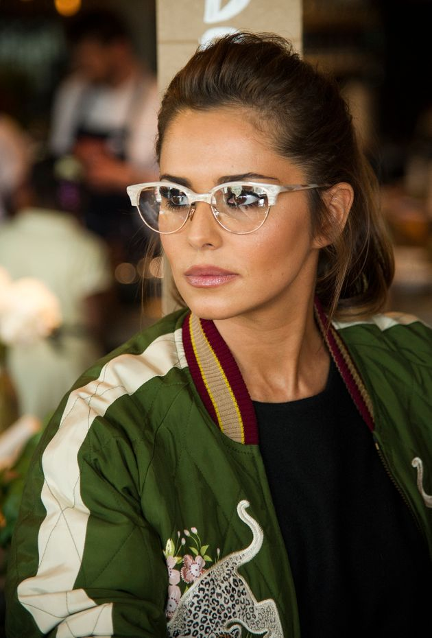Cheryl Channels Dame Edna Everage In Quirky Specs To Help Jamie Oliver Launch His Food
