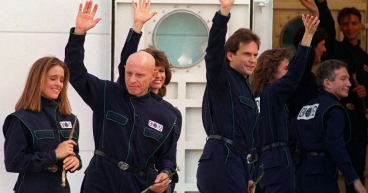 it s been 25 years since 8 scientists sealed themselves inside