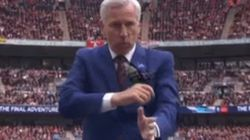 His Team May Have Lost But Alan Pardew's Dad Dancing Was The FA Cup Final's Real