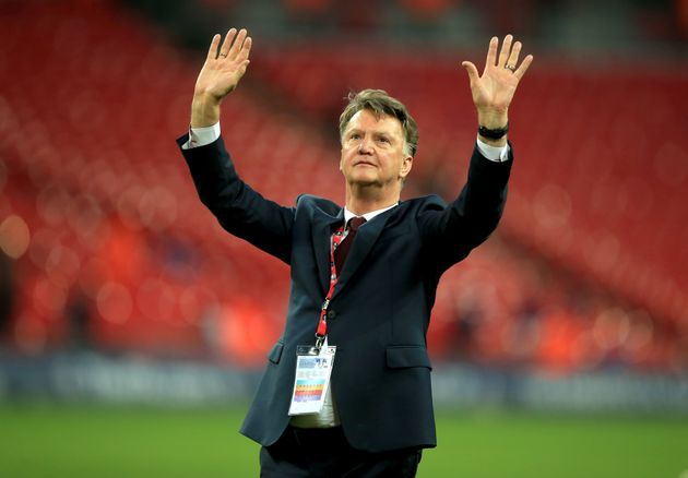 Louis Van Gaal didn't even move his hips during his victory