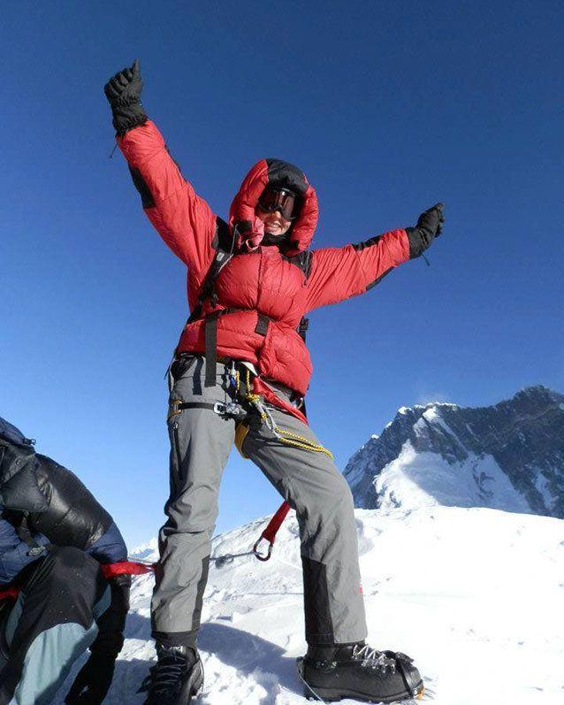 Dr. Maria Strydom had summited numerous peaks around the world.