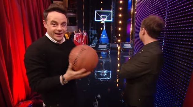 'Britain's Got Talent': Ant McPartlin Steals The Show With Seriously Impressive Basketball