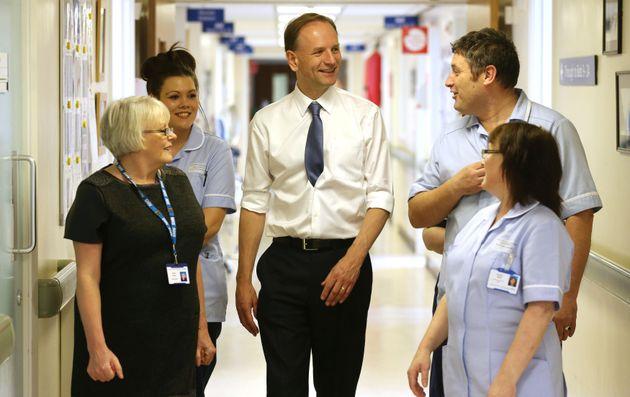 Simon Stevens with NHS