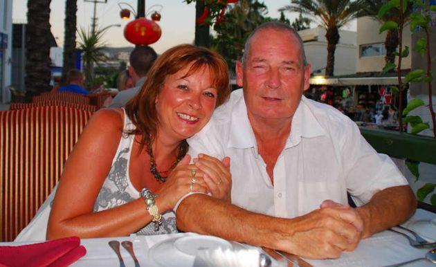 Jakki Smith and her long-term partnerJohn