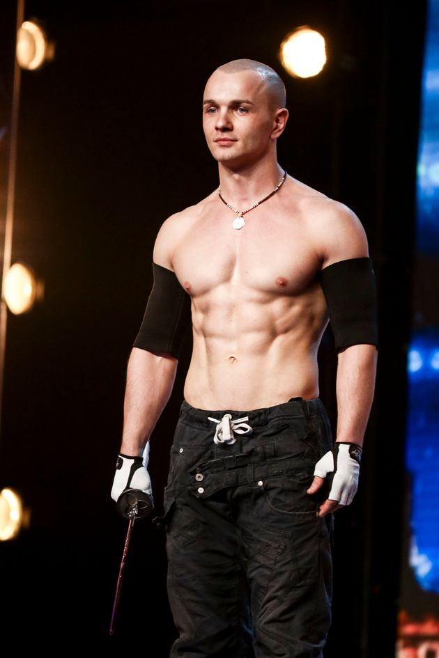 'Britain's Got Talent' Sword Swallower Alex Magala Banned From Live