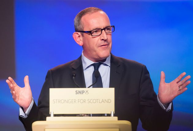 SNP deputy leader Stewart Hosie is stepping down andapologised for 'any hurt and upset' he...