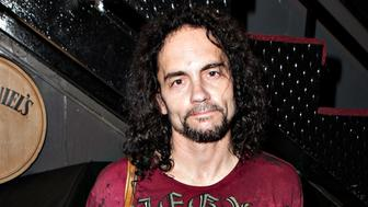 WEST HOLLYWOOD, CA - OCTOBER 17:  Nick Menza attends 95.5 KLOS And The Whisky a Go Go Present Rock Against MS All Star Benefit Concert at The Whisky a Go Go on October 17, 2013 in West Hollywood, California.  (Photo by Gabriel Olsen/FilmMagic)