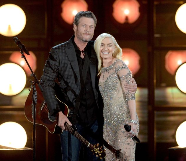 Gwen Stefani And Blake Shelton Take Their Love To The