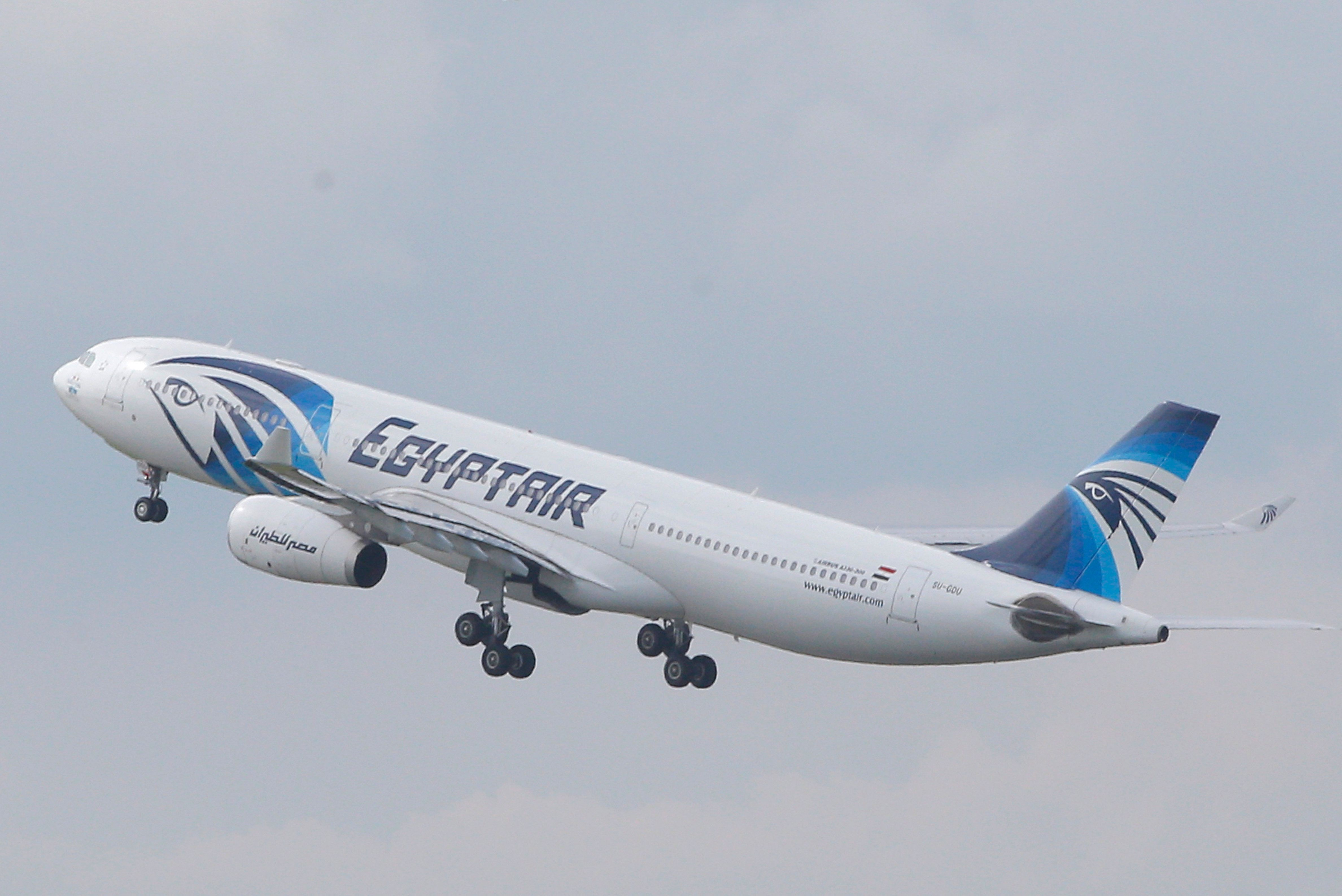 The EgyptAir plane that crashed killing 66 people on board had 'we will bring this plane down' scrawled...