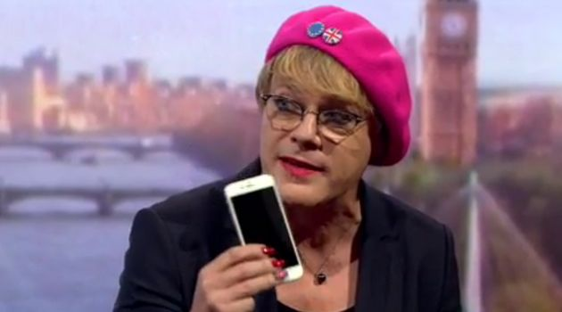 Eddie Izzard, comedian and EU remain campainger, will embark on a huge tour to get young people registered...
