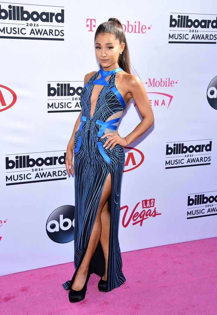 Singer Ariana Grande attends the 2016 Billboard Music Awards at T-Mobile Arena on May 22, 2016, in Las Vegas, Nevada.