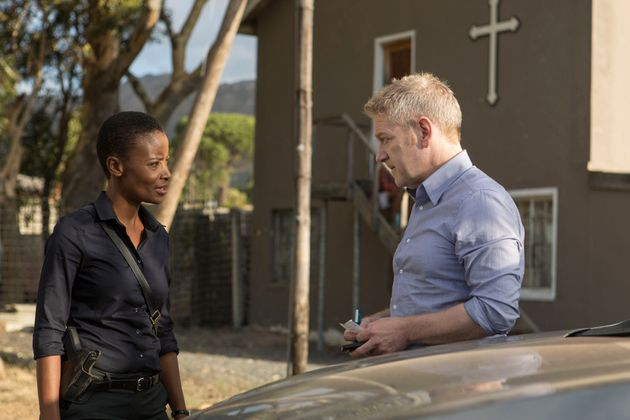 Wallander found an ally in South African police officer