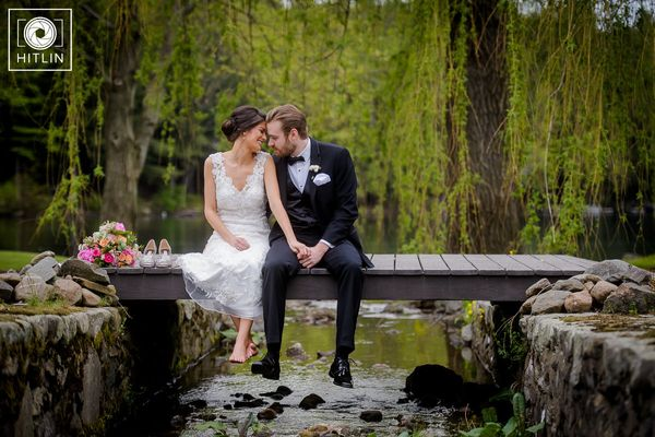 """Laura and Neil had an amazing wedding at Old Daley on Crooked Lake in Averill Park, New York on Saturday."" -- <i>Hitlin"