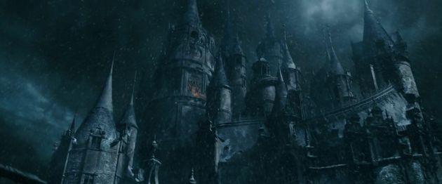 The Beast's eerie castle is even spookier in live