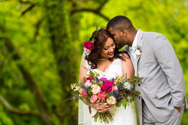 """Nastassia and Henry got married on a beautiful but rainy day at Historic Shady Lane in York, Pennsylvania. Thankfully, the w"