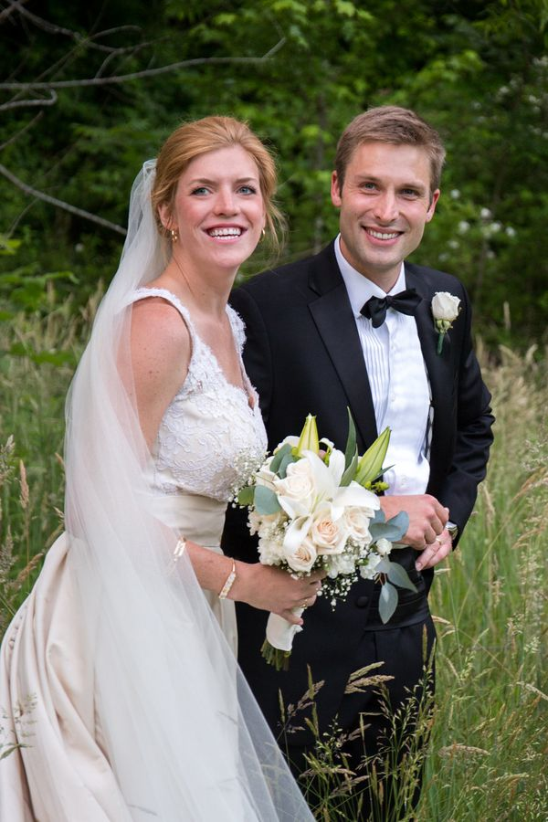 """Caleb and Laurence's wedding was held on May 21, 2016 at their beloved alma mater, Sewanee: The University of the South."" --"