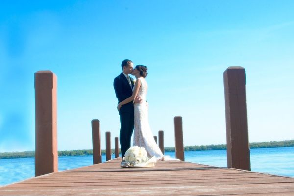 """Alison and Josh got married at the Heidel House Resort and Spa in Green Lake, Wisconsin.  On their most perfect da"