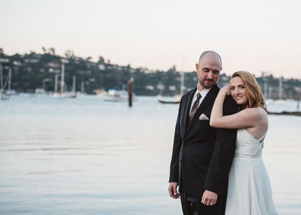 """Nick and Marissa got married Saturday at a waterfront park in Sausalito, California, surrounded by family and their closest"