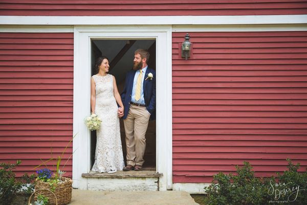 """Seana and Tyler were married this weekend on her parents' farm in Lyme, Connecticut. The house pictured is over 300 years ol"