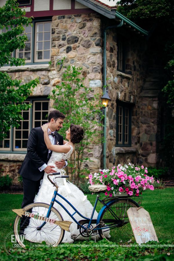 """Becky and Stephen shared their wedding day with family and friends at the Beverly Mansion in Marengo, Ohio on Saturday, May"