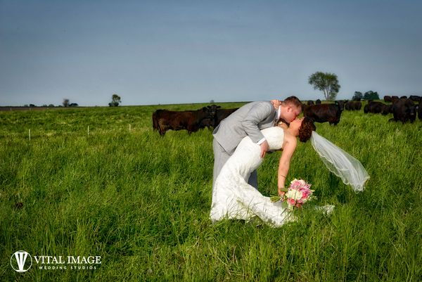 """Courtney and Dan were married this weekend in Clinton, Wisconsin. The true beauty of Wisconsin was the perfect backdrop for"