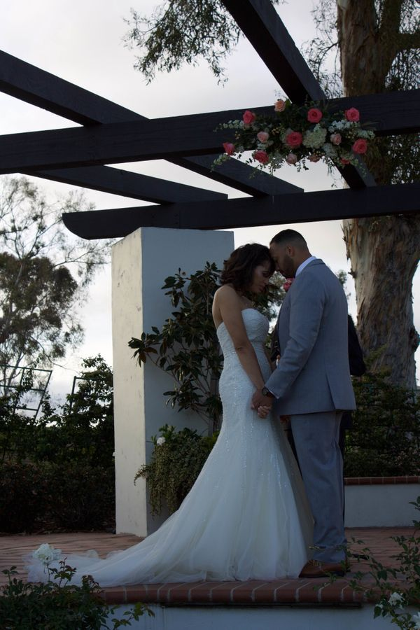 """I photographed Luis and Ciarra's wedding in Long Beach, California."" -- <i>Geraldine Estevez</i>"