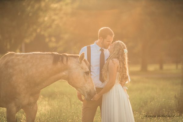 """Jessica and Brinson tied the knot on Saturday in a beautiful backyard ceremony with reception at the Batten Farm in New Bern"
