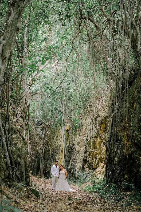 """Joanna and Greg's luxury Puerto Rico elopement included a photo safari around the 2,000-acre grounds of the exquisite Royal"