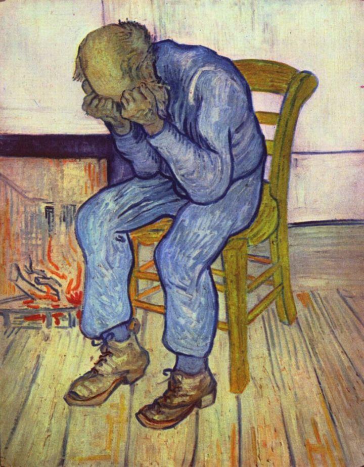 "Vincent van Gogh,""Sorrowing old man (At Eternity's Gate),"" 1890"